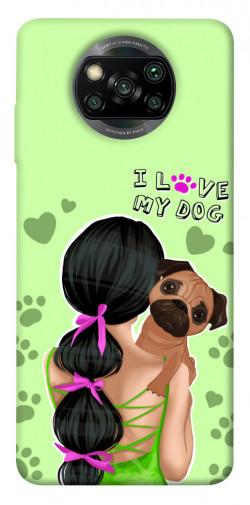 Чехол itsPrint Love my dog для Xiaomi Poco X3 NFC