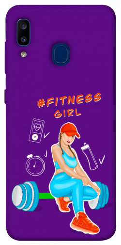 Чехол itsPrint Fitness girl для Samsung Galaxy A20 / A30