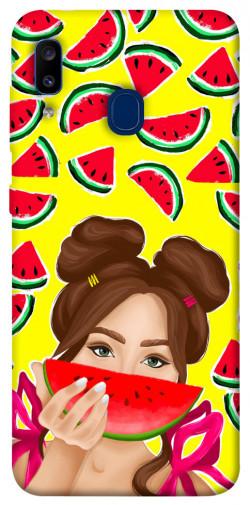 Чехол itsPrint Watermelon girl для Samsung Galaxy A20 / A30