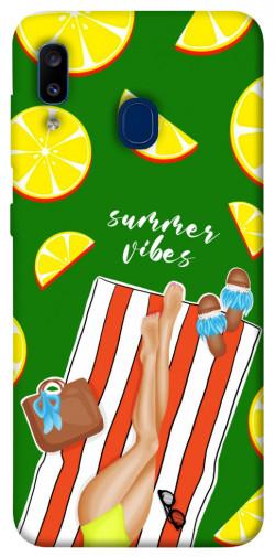 Чехол itsPrint Summer girl для Samsung Galaxy A20 / A30