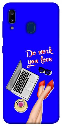 Чехол itsPrint Do work you love для Samsung Galaxy A20 / A30