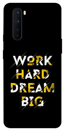 Чехол itsPrint Work hard для OnePlus Nord
