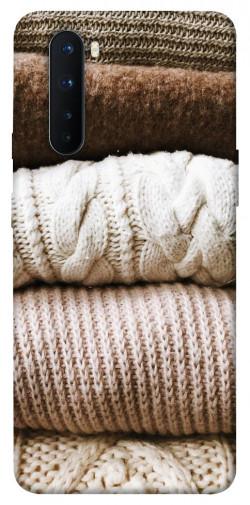 Чехол itsPrint Knitted aesthetics для OnePlus Nord