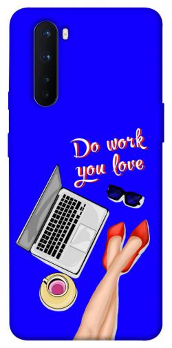 "<span class=""text-orange bold"">Серия</span> Чехол itsPrint Do work you love"
