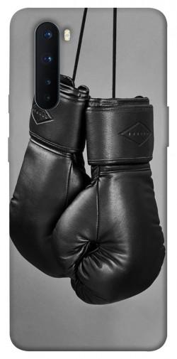 Чехол itsPrint Черные боксерские перчатки для OnePlus Nord