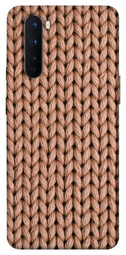 Чехол itsPrint Knitted texture для OnePlus Nord