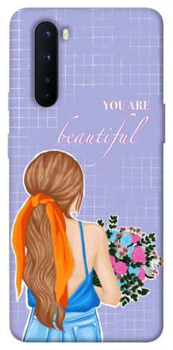 Чехол itsPrint You are beautiful для OnePlus Nord