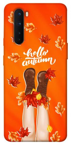 Чехол itsPrint Hello autumn для OnePlus Nord