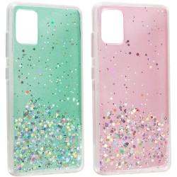 TPU чехол Star Glitter для Samsung Galaxy A02s