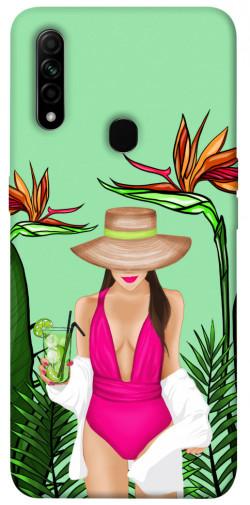 Чехол itsPrint Tropical girl для Oppo A31