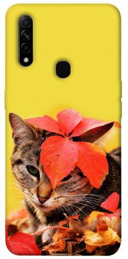Чехол itsPrint Осенний котик для Oppo A31