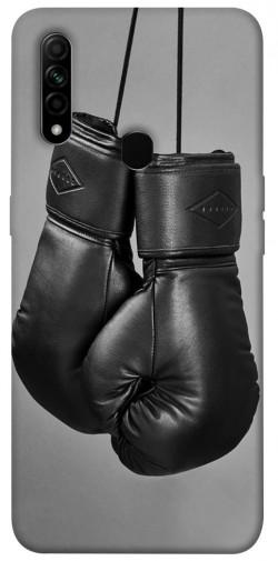 Чехол itsPrint Черные боксерские перчатки для Oppo A31