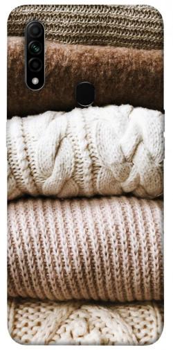 Чехол itsPrint Knitted aesthetics для Oppo A31