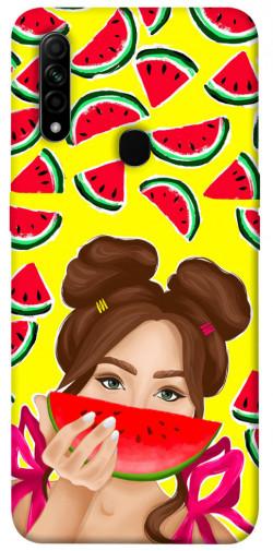 Чехол itsPrint Watermelon girl для Oppo A31