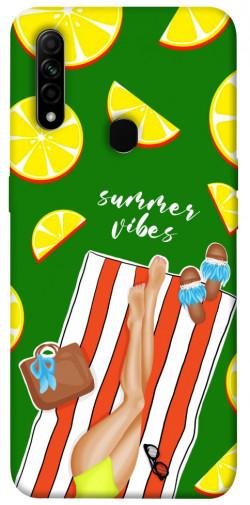 Чехол itsPrint Summer girl для Oppo A31