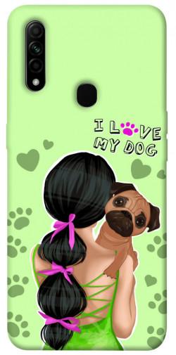 Чехол itsPrint Love my dog для Oppo A31