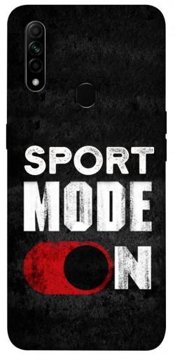 Чехол itsPrint Sport mode on для Oppo A31