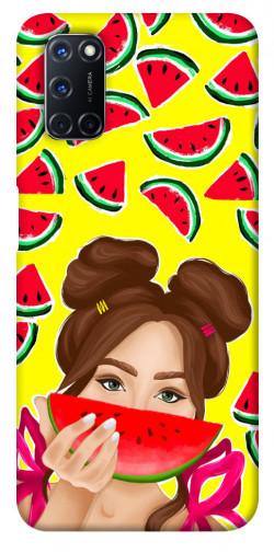 Чехол itsPrint Watermelon girl для Oppo A52 / A72 / A92