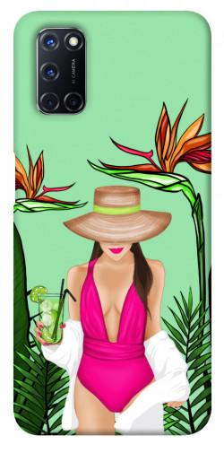 Чехол itsPrint Tropical girl для Oppo A52 / A72 / A92
