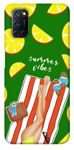 Чехол itsPrint Summer girl для Oppo A52 / A72 / A92