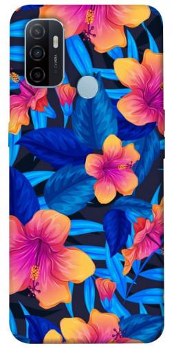 Чехол itsPrint Цветочная композиция для Oppo A53 / A32 / A33
