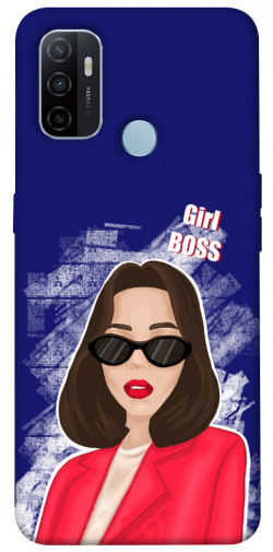 Чехол itsPrint Girl boss для Oppo A53 / A32 / A33