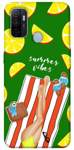 Чехол itsPrint Summer girl для Oppo A53 / A32 / A33
