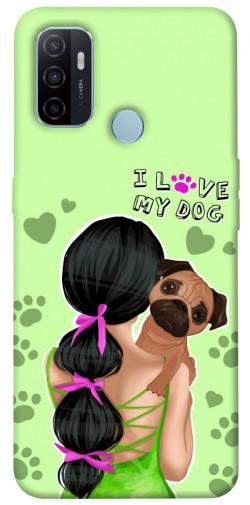 Чехол itsPrint Love my dog для Oppo A53 / A32 / A33