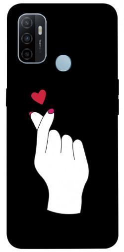 Чехол iPrint Сердце в руке для Oppo A53 / A32 / A33