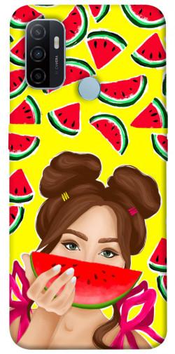 Чехол itsPrint Watermelon girl для Oppo A53 / A32 / A33
