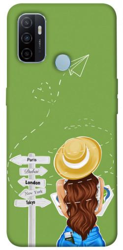 Чехол itsPrint Travel girl для Oppo A53 / A32 / A33