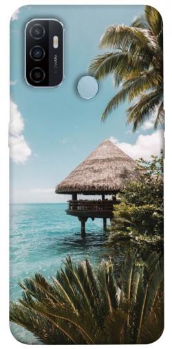 Чехол itsPrint Тропический остров для Oppo A53 / A32 / A33