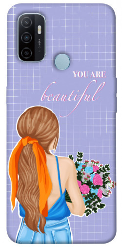 Чехол itsPrint You are beautiful для Oppo A53 / A32 / A33
