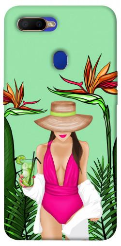Чехол itsPrint Tropical girl для Oppo A5s / Oppo A12