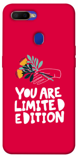 Чехол iPrint You are limited edition для Oppo A5s / Oppo A12