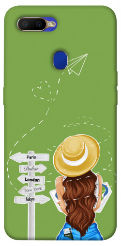 Чехол itsPrint Travel girl для Oppo A5s / Oppo A12