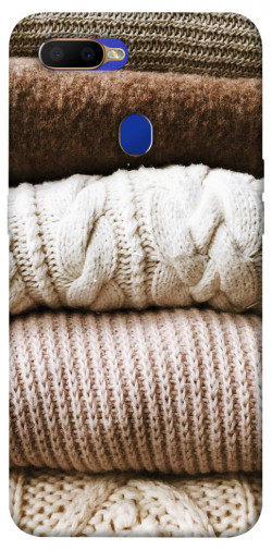 Чехол itsPrint Knitted aesthetics для Oppo A5s / Oppo A12