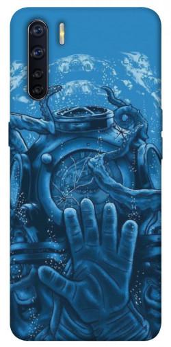 Чехол itsPrint Astronaut art для Oppo A91