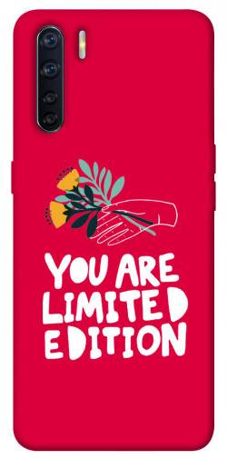 Чехол iPrint You are limited edition для Oppo A91