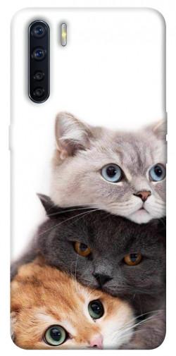 Чехол itsPrint Три кота для Oppo A91