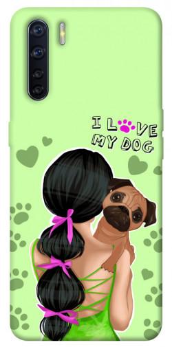 Чехол itsPrint Love my dog для Oppo A91