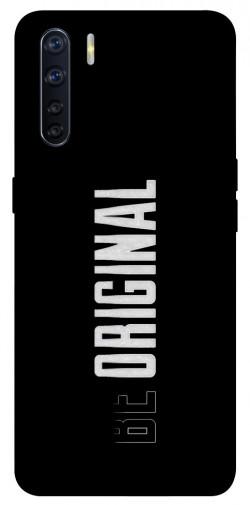 Чехол itsPrint Be original для Oppo A91