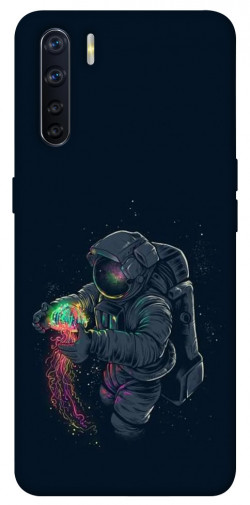 Чехол itsPrint Walk in space для Oppo A91