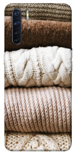 Чехол itsPrint Knitted aesthetics для Oppo A91