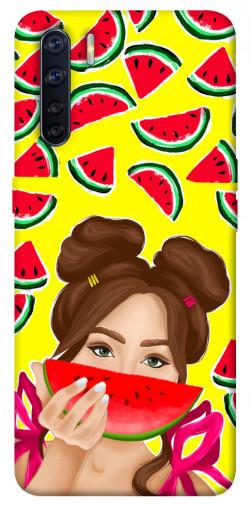 Чехол itsPrint Watermelon girl для Oppo A91