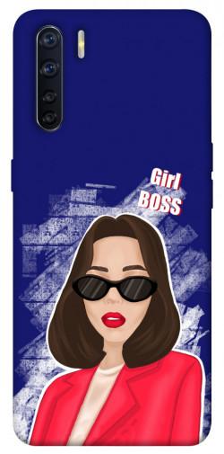 Чехол itsPrint Girl boss для Oppo A91