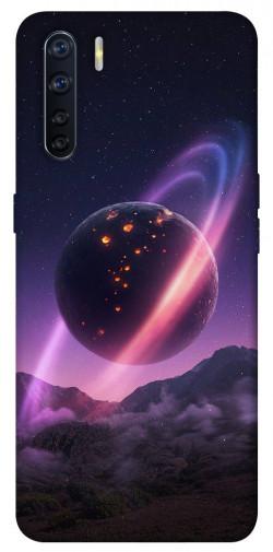Чехол itsPrint Сатурн для Oppo A91