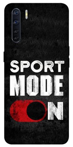 Чехол itsPrint Sport mode on для Oppo A91