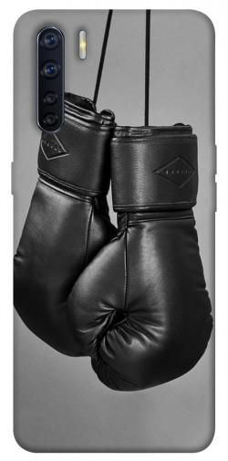Чехол itsPrint Черные боксерские перчатки для Oppo A91