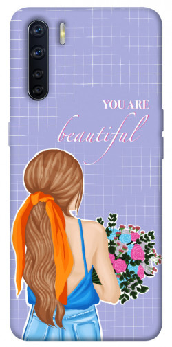 Чехол itsPrint You are beautiful для Oppo A91